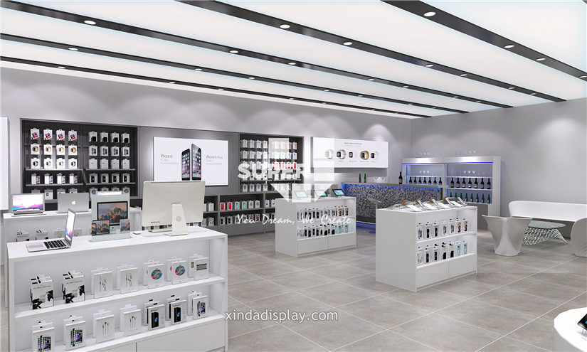 Apple Store Electronics Mobile Phone Shop Interior Design