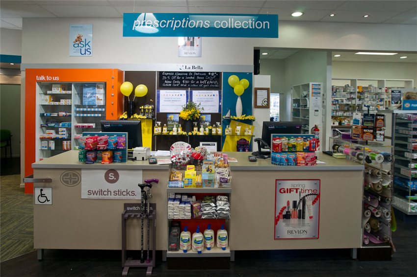 Chain Store Pharmacy Decoration Design Ideas Retail Shop