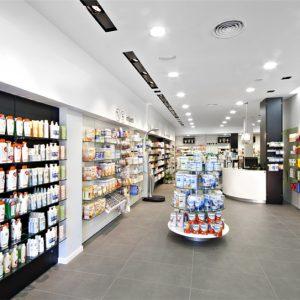 Small Pharmacy Shop Interior Design Ideas - Retail Shop ...