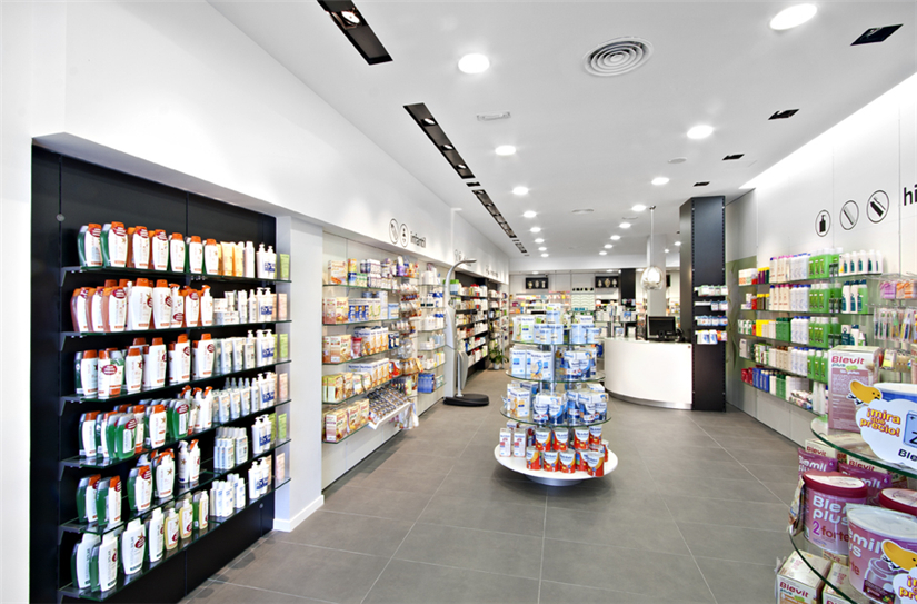 Small Pharmacy Shop Interior Design Ideas - Retail Shop ...
