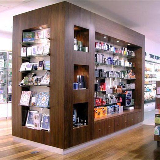 Wood Style Retail Small Pharmacy Design Interior Ideas - Retail Shop ...