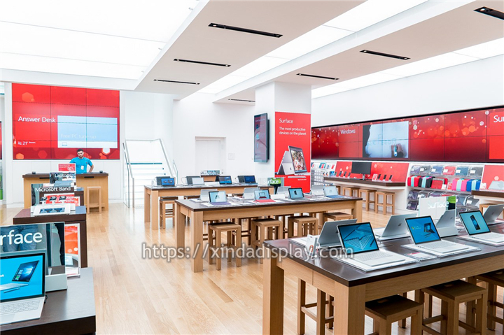 New Laptop Showroom Design Ideas Retail Store Display System ...