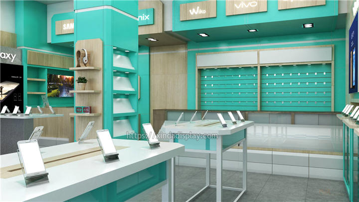 Simple Mobile Phone Shop Interior Design Retail Shop Interior Design Store Layout Design